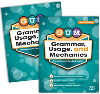 Zaner-Bloser GUM: Grade 7 Home School Bundle - Student Edition/Teacher Edition