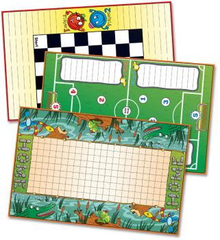 Zaner-Bloser Spelling Connections Grade 5 Game Mats (2012 edition)