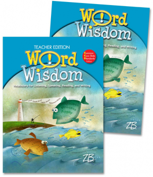 Zaner-Bloser Word Wisdom Grade 3 Home School Bundle - Student Edition/Teacher Edition (2013 edition)