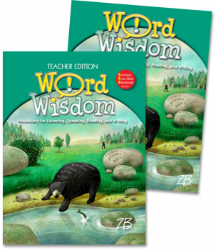 Zaner-Bloser Word Wisdom Grade 5 Home School Bundle - Student Edition/Teacher Edition (2013 edition)