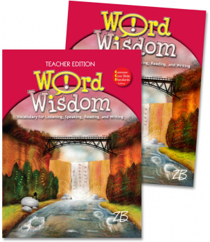 Zaner-Bloser Word Wisdom Grade 7 Home School Bundle - Student Edition/Teacher Edition (2013 edition)