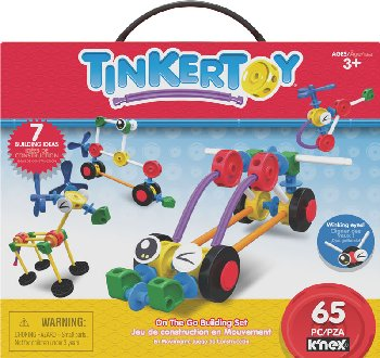 Tinkertoy 65 Piece Essentials Value Set (65 Pieces)