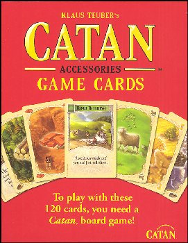 Settlers of Catan Game Cards (Replacement Game Components)