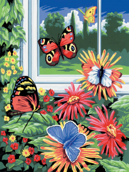 Painting By Numbers - Butterflies (Junior Small)