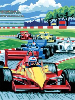 Painting By Numbers - Grand Prix (Junior Small)