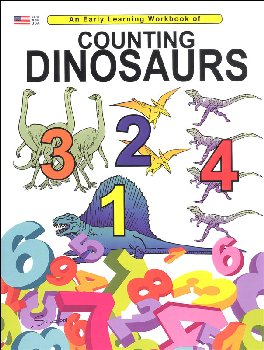 Counting and Coloring Dinosaurs(Educ Rd & Clr
