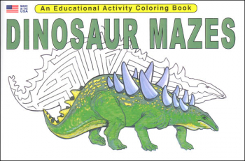 Dinosaur Mazes Activity Book