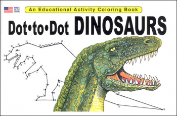 Dot-to-Dot Dinosaurs Activity Book