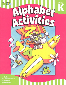 Alphabet Activities: Grade PreK-K (Flash Skills)