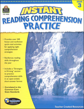 Instant Reading Comprehension Practice - Grade 3
