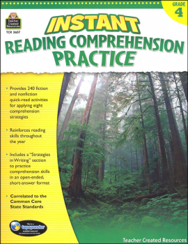 Instant Reading Comprehension Practice - Grade 4