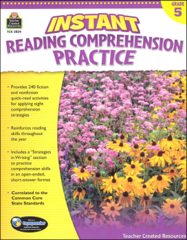 Instant Reading Comprehension Practice - Grade 5