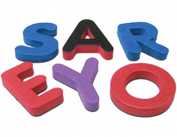 Magnetic Foam Letters: Small Uppercase