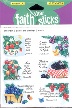 Berries and Blessings Stickers (Faith That Sticks)