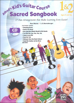 Alfred's Kid's Guitar Course Sacred Songbook 1 & 2 Book & CD