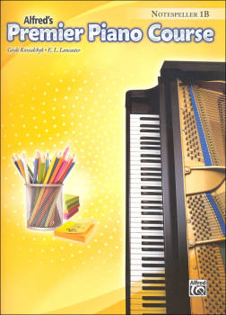 Alfred's Premier Piano Course Notespeller Level 1B