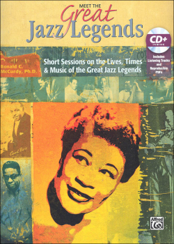 Meet the Great Jazz Legends Book & CD