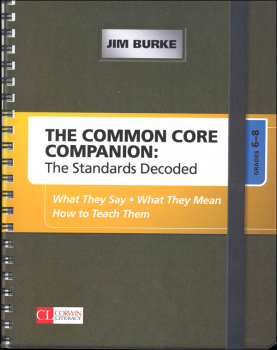 Common Core Companion: Standards Decoded Grades 6-8