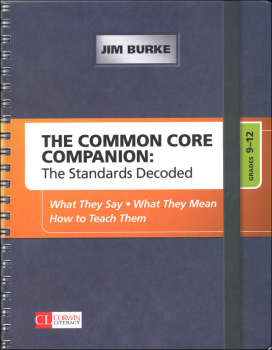 Common Core Companion: Standards Decoded Grades 9-12
