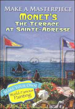 Monet's Terrace at Sainte-Adresse (Make a Masterpiece Little Activity Books)