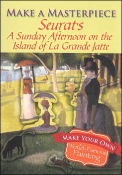 Seurat's a Sunday Afternoon on the Island of La Grande Jatte (Make a Masterpiece Little Activity Books)