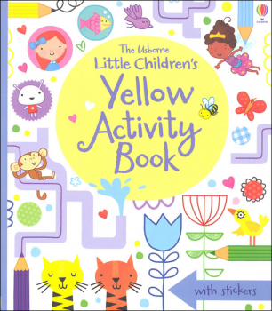 Little Children's Yellow Activity Book