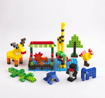 Linking Cube Classroom Set w/ 500 blocks