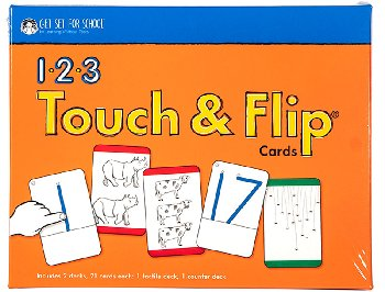 1-2-3 Touch & Flip Cards