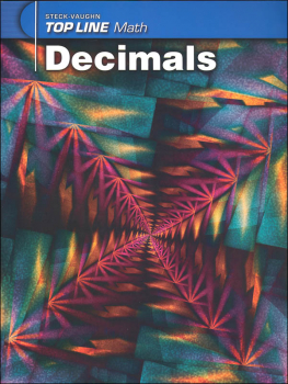 Top Line Math: Decimals
