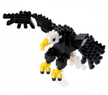Nanoblock - Bald Eagle Mini (120+ Pieces)