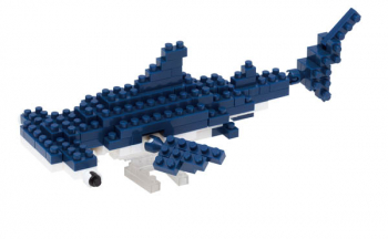 Nanoblock - Hammerhead Shark Mini (120+ Pieces)