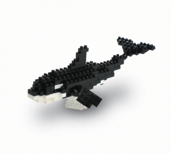 Nanoblock - Orca Mini (110+ Pieces)