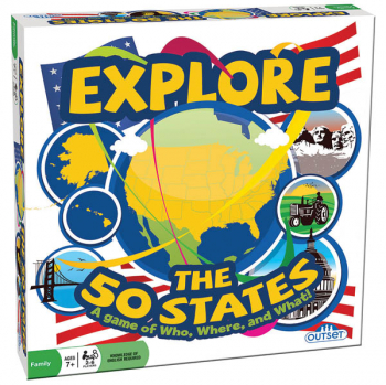 Explore the 50 States Trivia Game