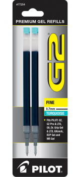 G2 Ink Refills - Fine Point - Turquoise (2 pack)
