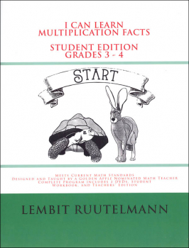 I Can Learn Multiplication Facts Student Edition