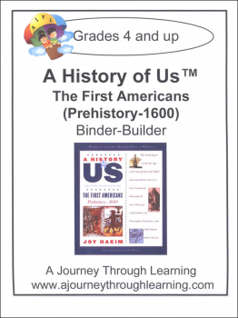 History of US Binder Builder Book 1 - First Americans Printed