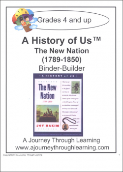 History of US Binder Builder Book 4 - New Nation Printed