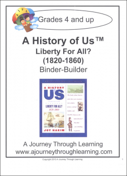 History of US Binder Builder Book 5 - Liberty for All? Printed