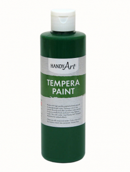 Green Tempera Paint 8 oz.