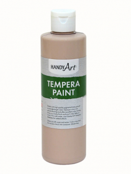 Peach Tempera Paint 8 oz.