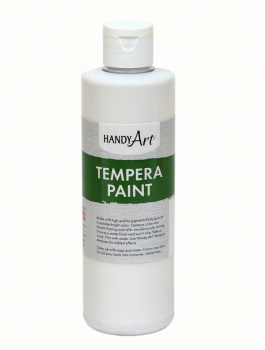White Tempera Paint 8 oz.