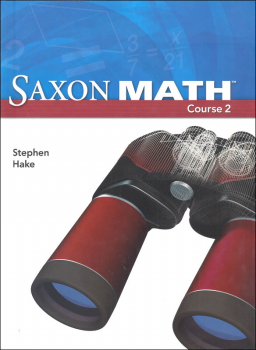 Saxon Math Course 2 Student Edition