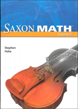 Saxon Math Course 3 Student Edition