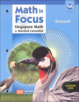 Math in Focus: Singapore Math Reteach 4A