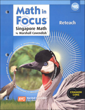 Math in Focus: Singapore Math Reteach 4B