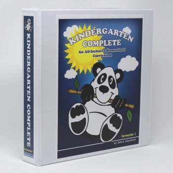 Kindergarten Complete: Semester One Teacher's Manual (including Student Workbook)