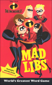 Incredibles Mad Libs
