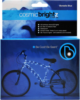 Cosmic Brightz Bike Wrap-Blue(40 lights/6.5')