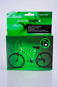 Cosmic Brightz Bike Wrap-Green(60 lights/10')