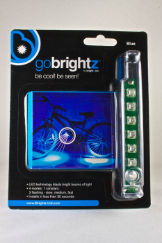 Go Brightz Bike Light - Blue